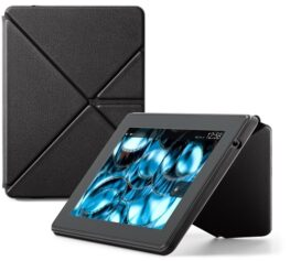 Amazon Kindle Fire HDX Standing Leather Origami Case